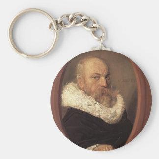 Frans Hals- Petrus Scriverius Key Chain