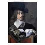 Frans Hals- Portrait of Willem Coymans Card