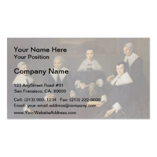 Frans Hals-Regentesses of the Old Men s Almhouse Business Card Templates