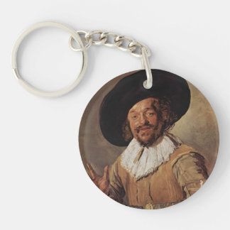 Frans Hals- The Merry Drinker Keychain