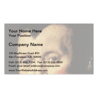 Frans Hals- The Regentesses of Old Men s Almhouse Business Card Template