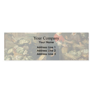 Frans Snyders- A Fruit Stall Business Cards