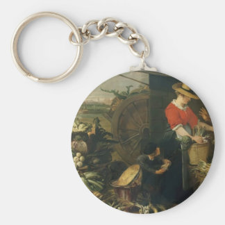 Frans Snyders- A Fruit Stall Keychains