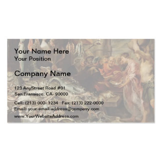 Frans Snyders- Fish market Business Card Template