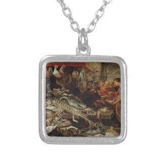 Frans Snyders- Fish market Necklaces
