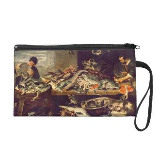 Frans Snyders- Fish Shop Wristlet Purse
