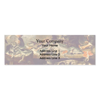 Frans Snyders- Fish Shop Business Card Templates