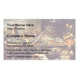 Frans Snyders- Fish Shop Business Cards