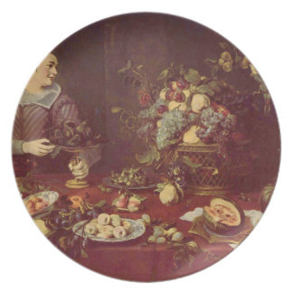 Frans Snyders- Fruit seller Party Plate