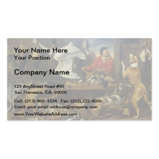 Frans Snyders- Game Stall Business Card Template
