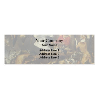 Frans Snyders- Game Stall Business Card