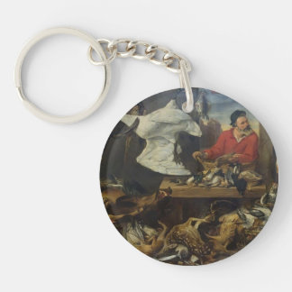 Frans Snyders- Game Stall Acrylic Keychains