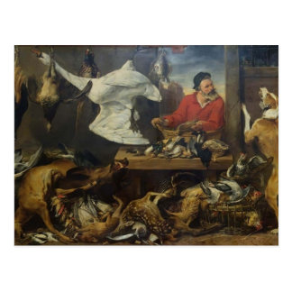 Frans Snyders- Game Stall Postcard