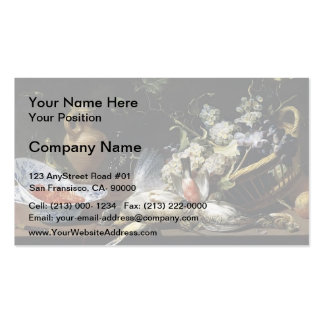 Frans Snyders- Still Life Business Card Template