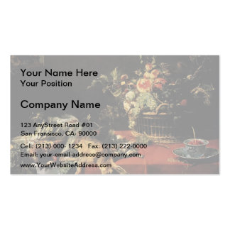 Frans Snyders- Still Life with Fruit Basket,Game Business Cards