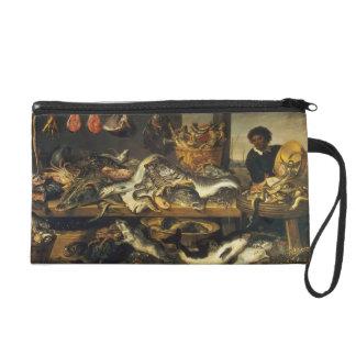 Frans Snyders- The Fish Market Wristlet Clutch