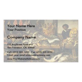 Frans Snyders- The Fish Market Business Card Template