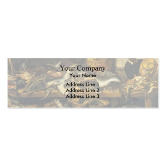 Frans Snyders- The Fish Market Business Card Templates