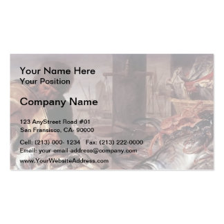 Frans Snyders- The Fishmonger Business Card