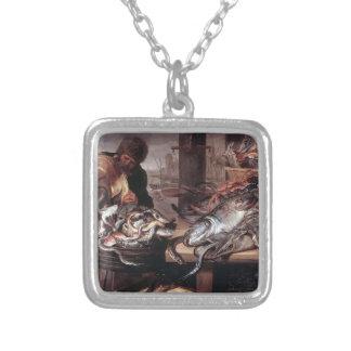 Frans Snyders- The Fishmonger Pendant