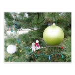 Franscious y postal del árbol de navidad de Lennar