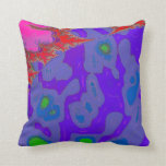 Frantic Booth Throw Pillows