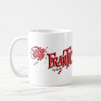 """""""Frantic Undead"""" 11oz Splatter Logo Mug White"""