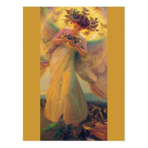 Franz Dvorak CC0420 Favorite Angel Postcard