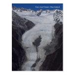 Franz Josef glaciar (Nueva Zelanda tarjeta postal)