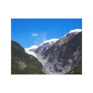 Franz Josef Glacier, New Zealand Canvas Print