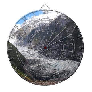 Franz Josef Glacier, New Zealand Dartboard With Darts