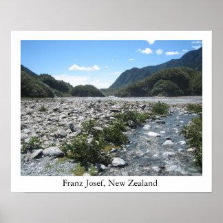 Franz Josef, New Zealand Poster