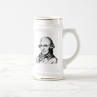 Franz Joseph Haydn Beer Stein