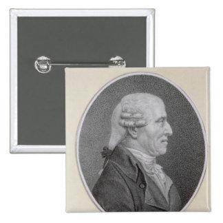 Franz Joseph Haydn 2 Inch Square Button