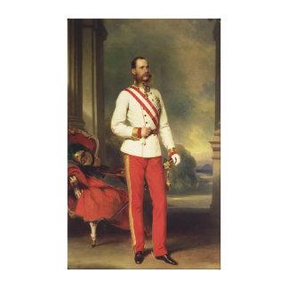 Franz Joseph I, Emperor of Austria 2 Stretched Canvas Prints