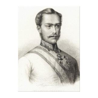 Franz Joseph I, Emperor of Austria Canvas Print
