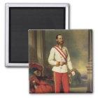 Franz Joseph I, Emperor of Austria Magnet