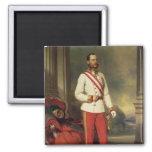 Franz Joseph I, Emperor of Austria 2 Inch Square Magnet