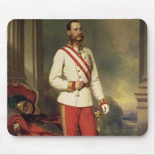 Franz Joseph I, Emperor of Austria Mouse Pad