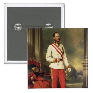 Franz Joseph I, Emperor of Austria Pinback Buttons