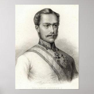 Franz Joseph I, Emperor of Austria Poster