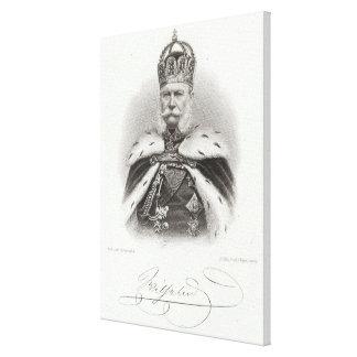 Franz-Joseph I of Austria Canvas Print