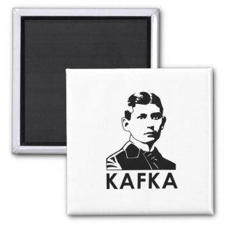 Franz Kafka 2 Inch Square Magnet
