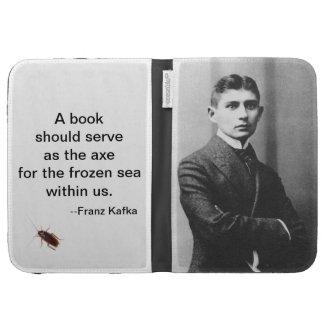 Franz Kafka Kindle Case 2 (with cockroach option)