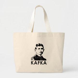 Franz Kafka Large Tote Bag