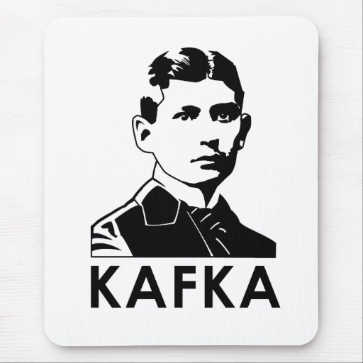 Franz Kafka Mouse Pads
