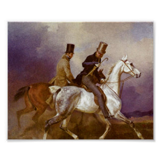 Franz Kruger - Horse of Prince Wilhelm Poster