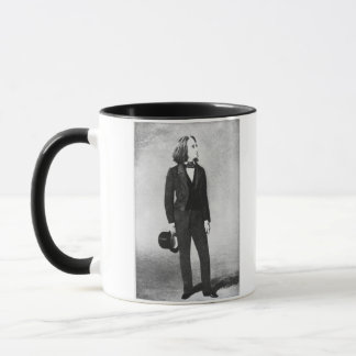 Franz Liszt (1811-86) 1856 (litho) (b/w photo) Mug