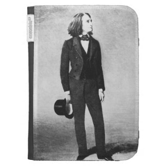 Franz Liszt (1811-86) 1856 (litho) (foto de b/w)