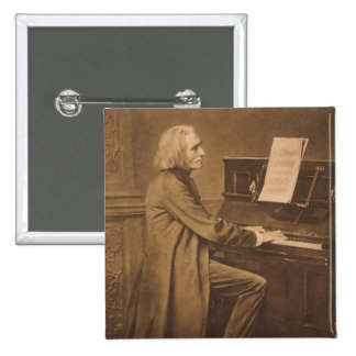 Franz Liszt  at the Piano Button
